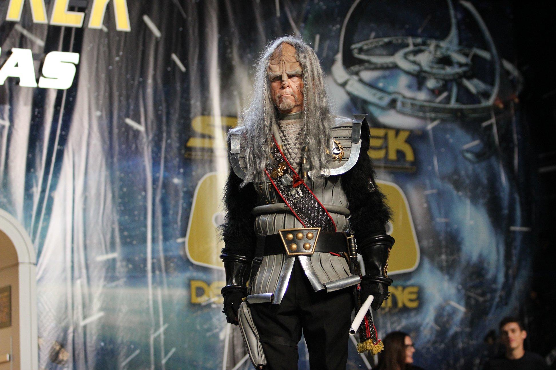 Egy klingon a TNG-ből (régi szép idők...)
