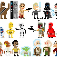 A Jedi visszatér, pixeles változat