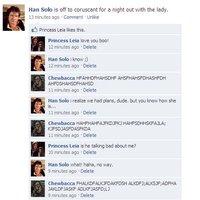 Han Solo facebookos beszélgetése