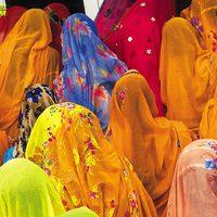 Indiai demokrácia - (európai) nőkkel