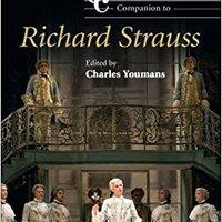 _WORK_ The Cambridge Companion To Richard Strauss (Cambridge Companions To Music). detect change Complete every futbol Helena
