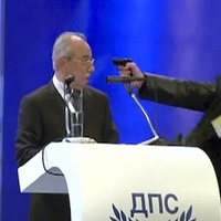 Fegyverrel támadtak egy bolgár politikusra