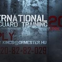 Iternational Bodyguard training