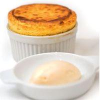 Mangófelfújt recept a Michelin L'assiette or The Plate ajánlott Fausto's étteremből