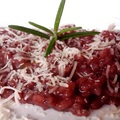 Könnyű vörösboros nyári risotto