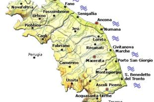 Le Marché, az elfeledett tartomány Toscana árnyékában
