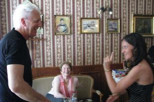 Edward és Frances Mayes...változásról, gasztronómiáról, tervekről…s persze Toscana-ról
