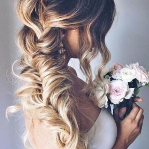 2018 legszebb esküvői frizurái