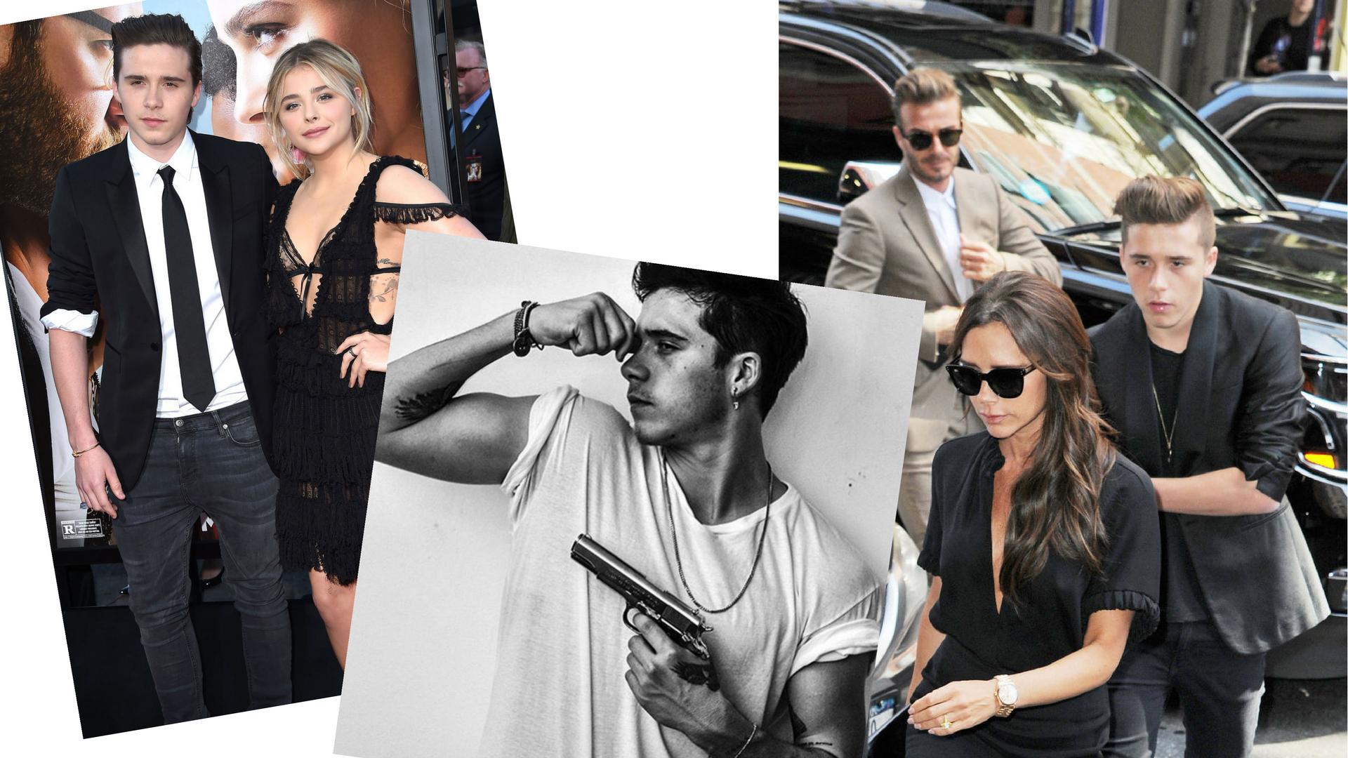 Brooklyn Beckham (18)<br />- Victoria és David Beckham idősebb fia <br />- 10.5M követő<br />- néhány modell munka és videóklip után Brooklyn 17 évesen már Burberry kampányt fotózott