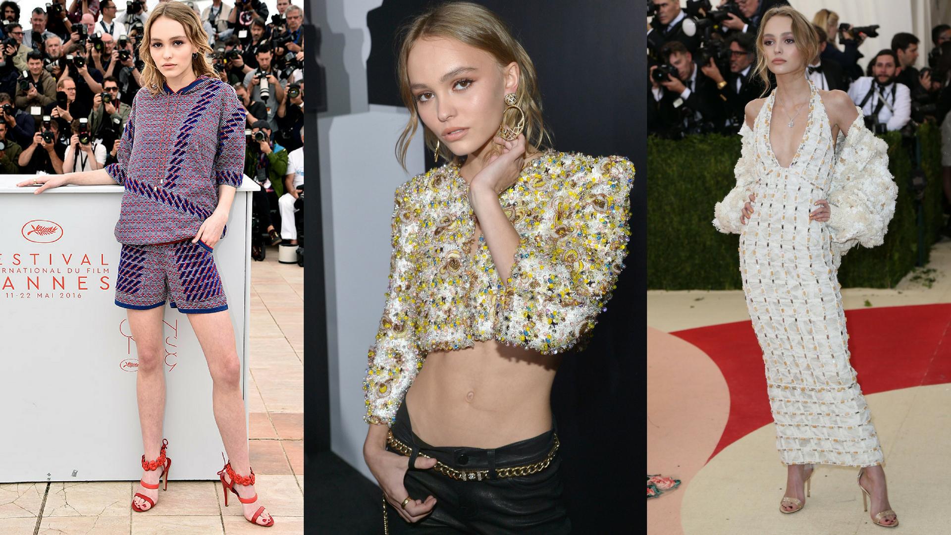 Lily-Rose Depp (18)<br />- Vanessa Paradis és Johnny Depp lánya<br />- 3.3 millió követő<br />- első filmszerepét 15 évesen vállalta, idén pedig a Chanel arca lett