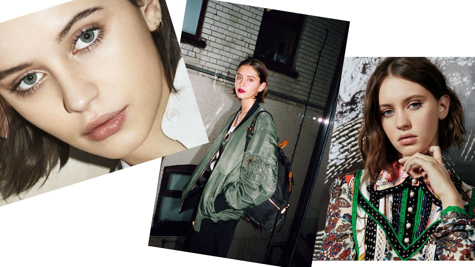 Iris Law (17)<br />- Sadie Frost és Jude Law lánya<br />- 91ezer követő<br />- szüleivel és testvérével már kétévesen szerepelt a Vogue-ban, de valódi modell karrierje 2015 decemberében indult