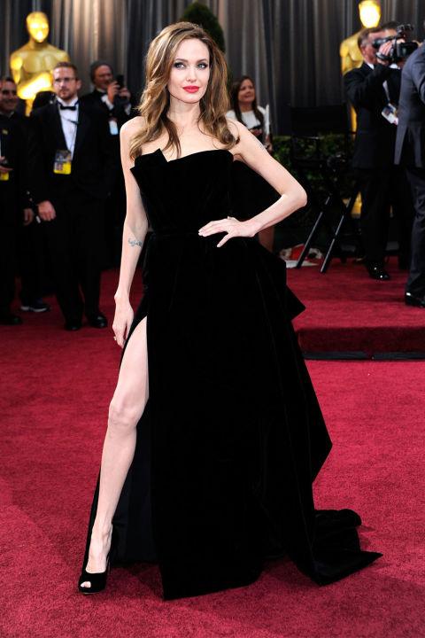 Angelina Jolie, 2012<br />Atelier Versace