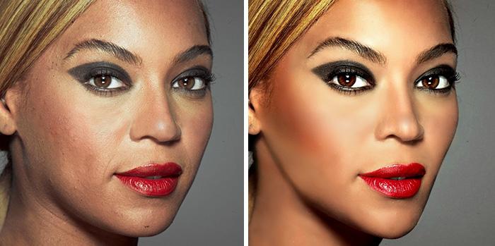 Beyoncé a híres L'Oréal kampányában<br />