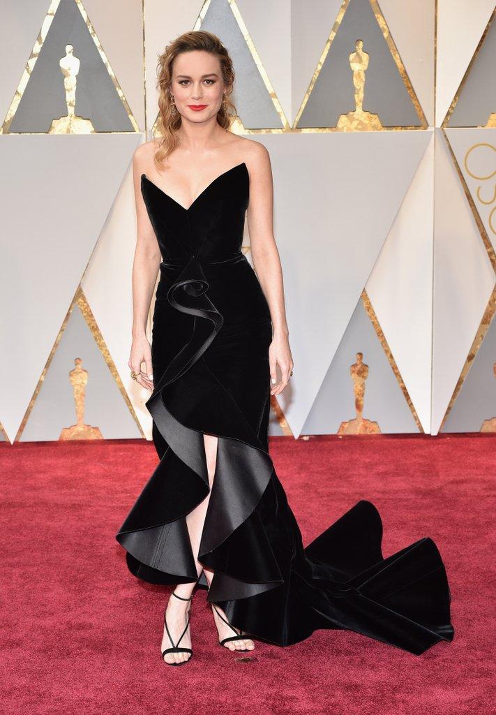 Brie Larson<br />Oscar de la Renta