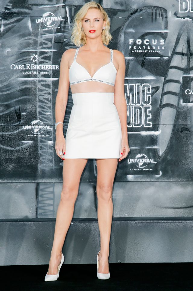 Charlize Theron<br />Diorban