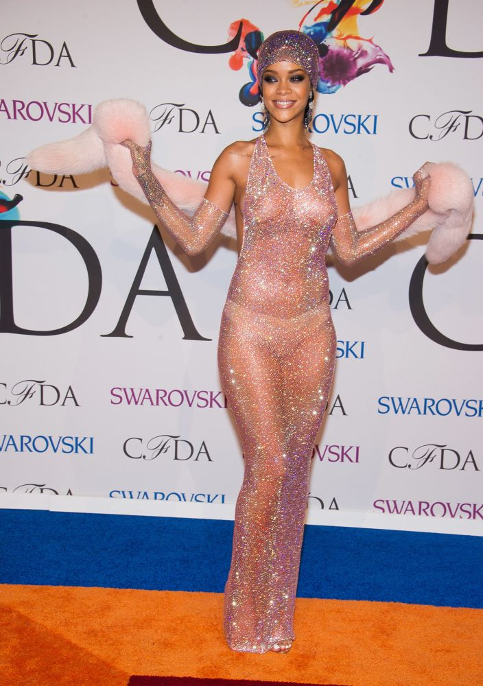 Rihanna, 2014. CFDA Fashion Awards