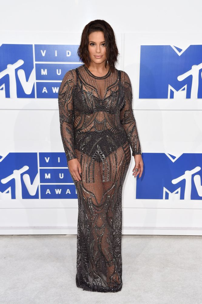 Ashley Graham, 2016. MTV Video Music Awards