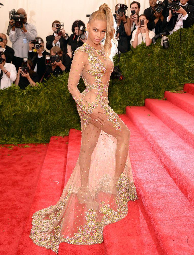 Beyoncé, 2015. Met Gala