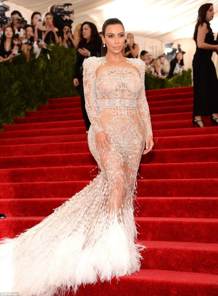 Kim Kardashian, 2015. Met Gala