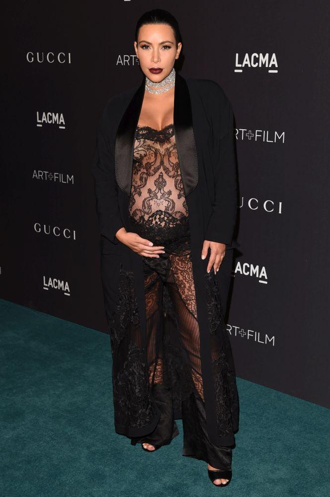 Kim Kardashian, 2015. LACMA Art+Film Gala