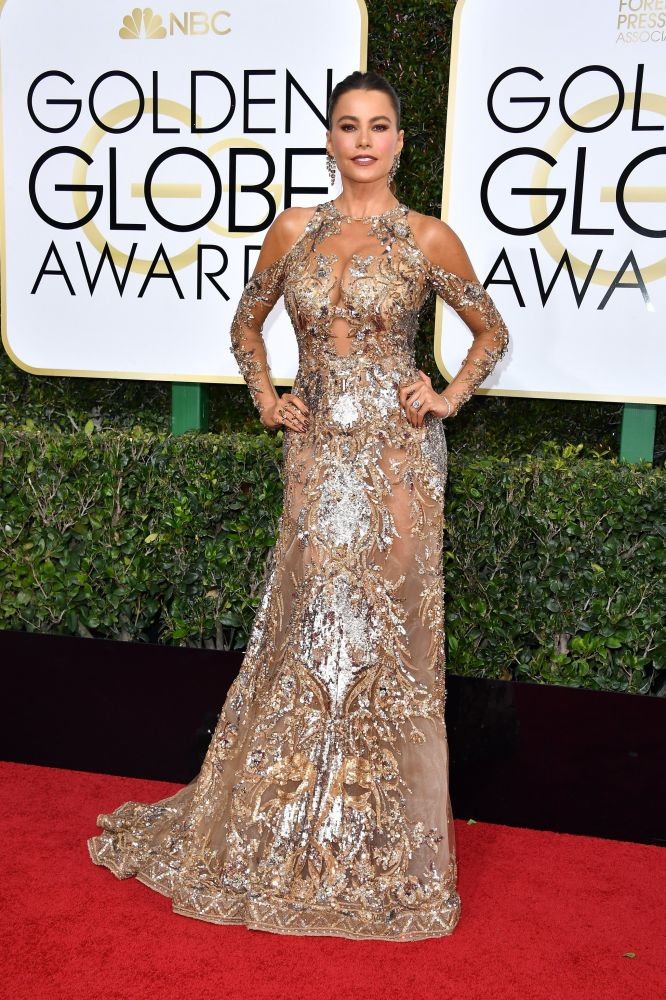 Sofia Vergara, 2017. Golden Globes