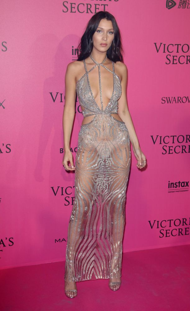 Bella Hadid, 2016. Victoria's Secret Fashion Show after party