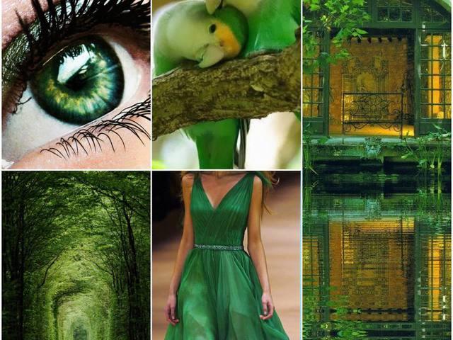 A zöld szín jelentése
