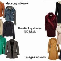 Milyen kabátot viselj ha alacsony / magas vagy?