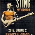 Sting 2019-ben is Budapesten ad koncertet