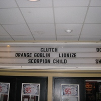 Clutch, Orange Goblin, Lionize, Scorpion Child - Syracuse, NY 4/15/2013