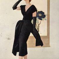 Régi idők divatfotói - Christian Dior