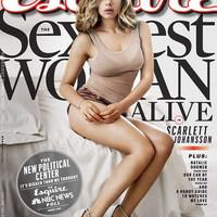Scarlett Johansson újabb címlapon