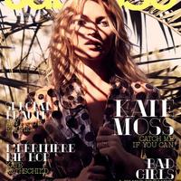 Kate Moss címlapon