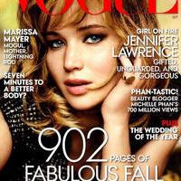 Jennifer Lawrence a Vogue címlapján