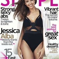 Jessica Alba címlapon!
