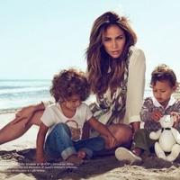 Jennifer Lopez gyermekei népszerűsítik a Gucci-t
