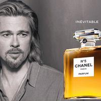 Brad Pitt a Chanel No.5 reklámban