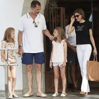 Mallorcán nyaral a spanyol királyi család
