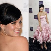 Lily Allen a British Style Awards-on