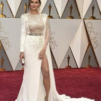 Oscar Awards 2017 - hölgyek fehér ruhában
