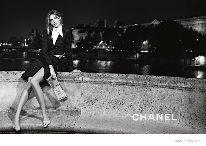 369dcc72c0 Gisele Bündchen a Chanel tavaszi arca! - Strange's fashion & gossip