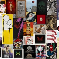 Októberben újból street art művészek munkái kerülnek kalapács alá