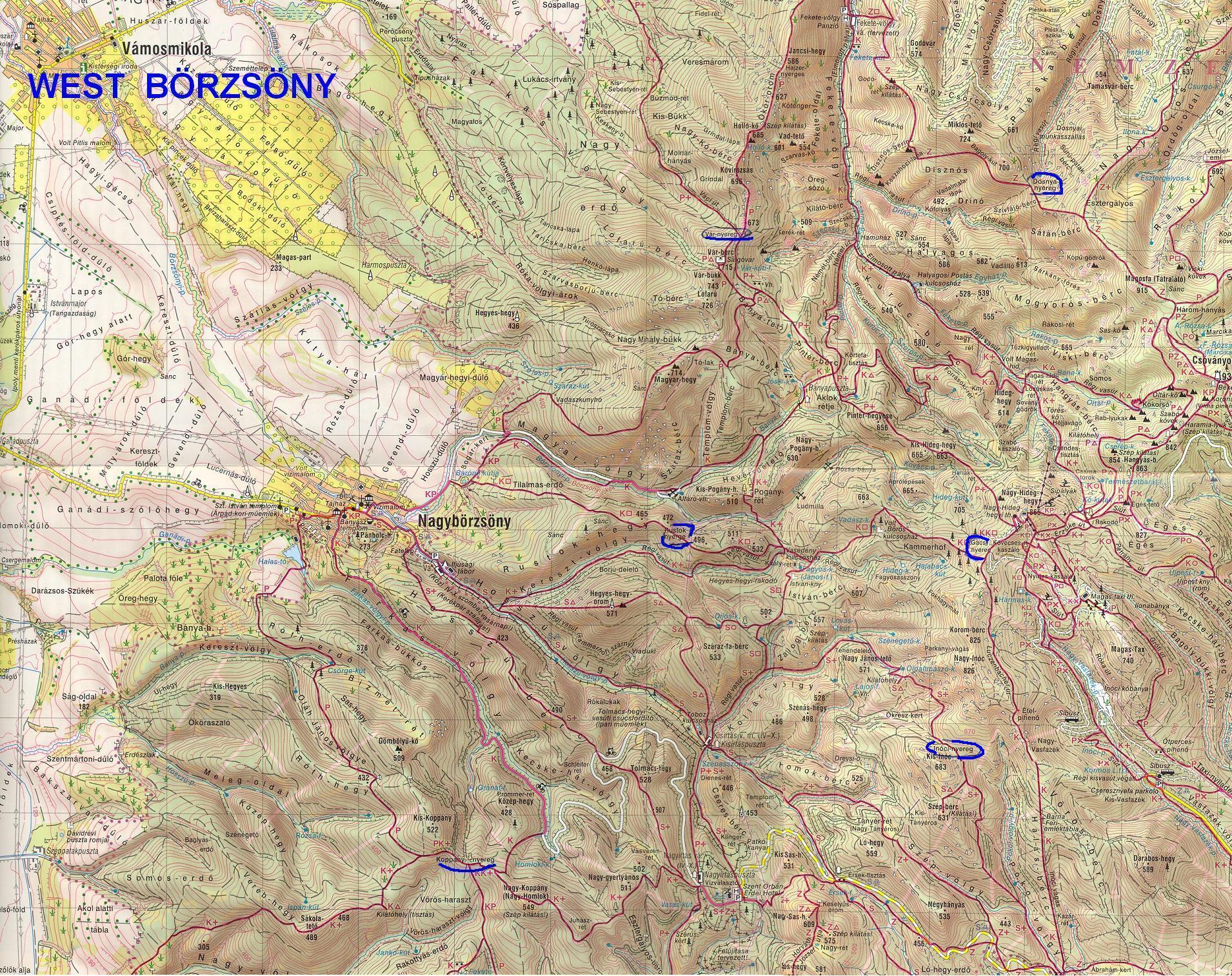 börzsöny térkép Perőcsényi Salgóvár   Kirándulás a történelembe börzsöny térkép