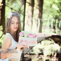 #Barbi Világa ~ Selyem Rózsa Fa dobozban