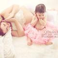 Hajni és Juli  ♡  kismamafotózás és babafotózás