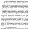 Hedvig lengyel királynénak adománya egyik udvari hölgye számára. 1396.