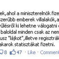 Facebook: Megmondó