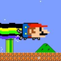 Napi GIF: Nyan Mario