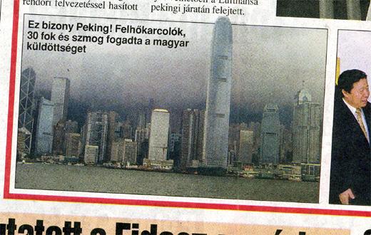 Ez bizony Hongkong, ti faszok