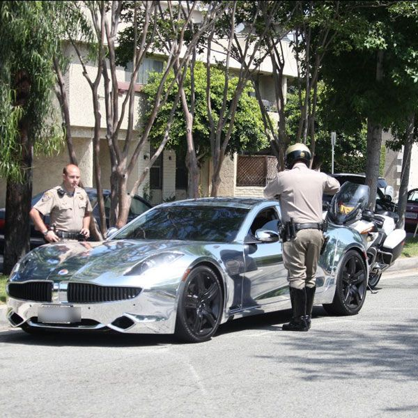 2012 Fisker Karma C13132410600 Wheel Rim: Bieber Hotwheels